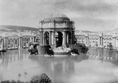 Palace of Fine Arts in San Francisco, CA. Built in 1915.