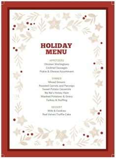 Chalkboard Template for the Holidays | Chalkboard template ...