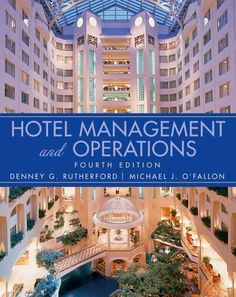 Hotel Management and Operations by Denney G. Rutherford, http://www.amazon.com/dp/0471470651/ref=cm_sw_r_pi_dp_xlNxqb0R8E19H