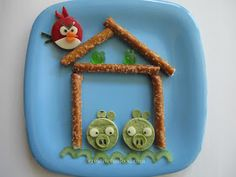 Angry Birds Lunch! creativefunfood.com