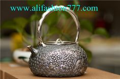 Handmade 999 Fine Silver Teapot-09,www.alifashion777.com wholesale Handmade 999 Fine Silver Teapot with high quality and low price.wholesale handmade the Silver teapot 999 fine silver for the business gift! we design and processing of personalized jewelry, jewellery for men, women jewelry, sterling silver jewelry, handmade jewelry. please contact us: skype: alifashion777 . whatsapp: 0086-186-8780-0583 if you have any question.
