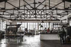 「倉庫→カフェ」 THE FACTORY CAFE(南アフリカ/ダーバン)