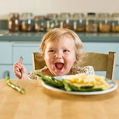 Use this age-by-age guide to find out the amount of food your child should be eating -- and how to create healthy habits for a lifetime.