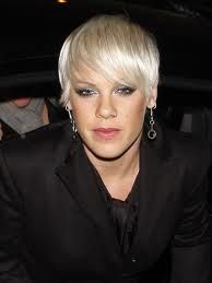 Short hair Alecia Moore Pink. She Looks. So tired. ;-$