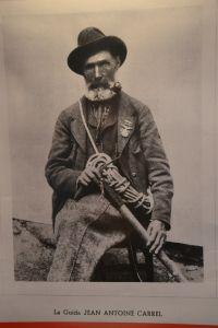 Jean Antoine Carrel (foto del Museo Guide del Cervino)