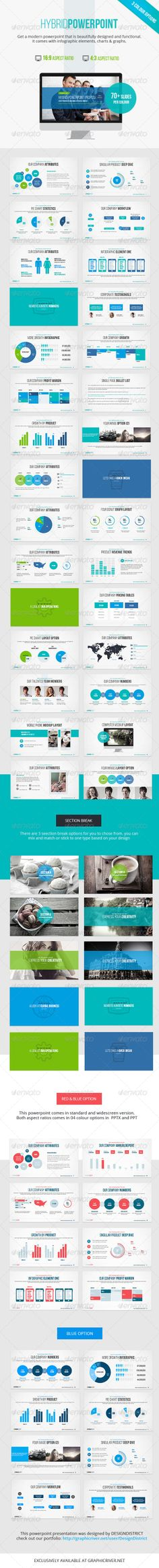 Hybrid Powerpoint Presentation - Business Powerpoint Templates