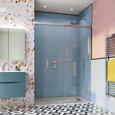 Crosswater Design 8 Soft Close Sliding Shower Door | Sanctuary Bathrooms