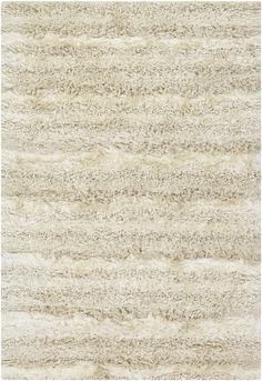 Chandra Rugs Kapaa 15501 Cream and Beige Wool Blend Shag Area Rug Hand Woven in 8 x 10 Home Decor Rugs Rugs White Rug, White Area Rug, Beige Area Rugs, Pretty Bedroom, Bright, 3d Max, Contemporary Rugs, Colorful Rugs, Shag Rug
