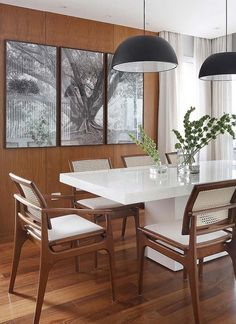 23 Clever DIY Christmas Decoration Ideas By Crafty Panda Home Design Decor, House Design, Interior Design, Sala Grande, Dinner Room, Dining Table Chairs, Dining Room Design, Home Remodeling, Interior Architecture