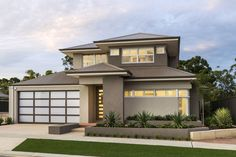 The Arcadia © Ben Trager Homes   Perth Display Home   Modern Facade Elevation