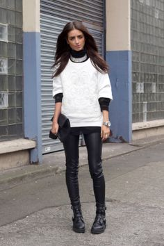 (Zara sweater)  Market HQ mesh sweater, American Apparel roll neck top,  and I just love it.