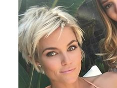 pixie haircut - short messy hairstyle
