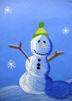 6th Graders finished their value snowmen, and they turned out great! We used colored pencils, and I taught value, hatching, cross-hatching,...