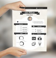 Stand out from the crowd with creative cv design!