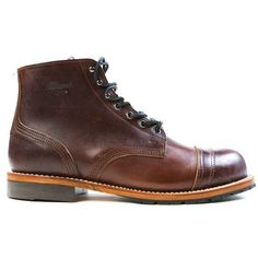 Thorogood The Dodgeville boot is hand built in Marshfield, Wisconsin using techniques that have been perfected since the company was founded in 1892. Featuring a subtle cap toe design, this boot features premium Horween Chromexcel leather, Goodyear welt construction, and a leather and Vibram lug outsole to ensure a good long life. The use of the No. 60 last provides a classic silhouette and also gives a roomy toe box for maximum comfort.