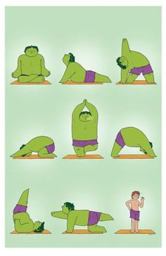 How Does The Hulk Turn Back Into Bruce Banner? Yoga