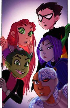 'Beast Boy' Sticker by SapphireSterre Nightwing, Batwoman, Teen Titans Fanart, Teen Titans Go, Original Teen Titans, Rabe, Beast Boy, Red Hood, Dc Heroes
