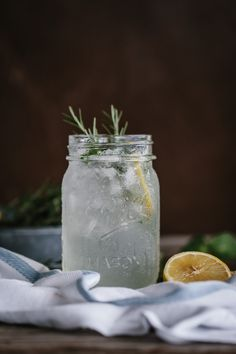 Mint and Rosemary Lemonade with Vanilla-foolproof living