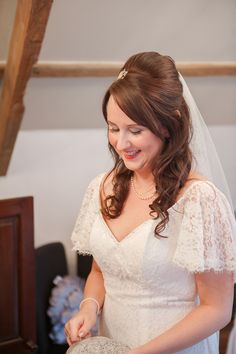 Elodie by Charlotte Balbier With a Touch of 20s Gatsby Style | Love My Dress® UK Wedding Blog