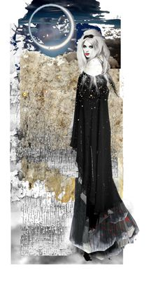 Inspired by Klimt, created by mistressmia on Polyvore
