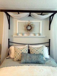 45 Glamorous Canopy Beds Ideas For Romantic Bedroom #masterbedroomideas #romanticbedroom #canopybedsideas ~ vidur.net Home Bedroom, Modern Bedroom, Bedroom Decor, Bedroom Ideas, Master Bedroom, Contemporary Bedroom, Master Suite, Bedroom Red, Bedroom Furniture
