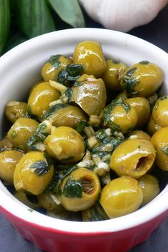spicy olives recipe