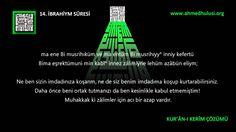 "14 İbrahiym Suresi: ""www.Ahmed Hulusi.org"", KUR'ÂN-I KERÎM ÇÖZÜMÜ, Abdus..."