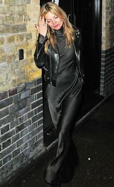 Kate Moss en janvier 2015
