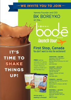 **The Long-Awaited Chris Powell Bod-e Perfect Protein Shakes are Available in Canada to order TODAY!!** http://networkedblogs.com/HxjMT