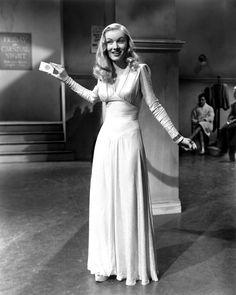 Film noir regular Veronica Lake showing off her best femme fatale magic tricks.