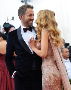 Then there's the fact that he just can't hide his happiness whenever Blake is by his side. | 27 Times Blake Lively And Ryan Reynolds Gave Us Intense Relationship Goals