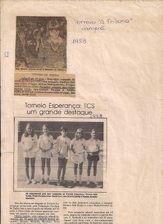 """Foto #1 - Campeã do """"Campeonato 'A Tribuna"""" Foto #2 - Torneio Esperança - Qualificação para o Campeonto Brasileiro"""