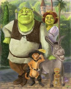 Shrek- love them all but First one is the best!