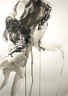 """Amanda"" by Julia Adams #art #life #gallery #drawing #"