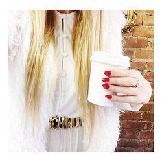 Loving #bloggerbabe Nicole Alyse's white-hot look in her #RachelPally Shannon dress!