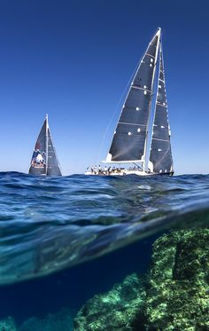 Successful yachtsmen must harness the powers of the sea and the sky.