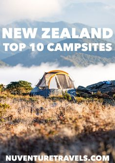 Our Top 10 Free & Cheap Campsites in New Zealand