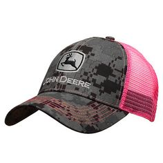 fdb244fa59a Womans Charcoal Camouflage And Pink Logo Cap Camo Scarf
