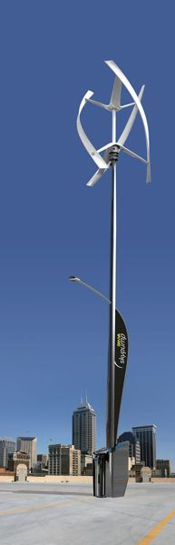 Solar/Wind LED - The Future of Street Lights - Lightpublic | The latest in Lighting and Interior Design