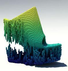 Дизайнерские пиксельные туфли от архитектора и фэшн-дизайнера Фрэнсиса Битонти. Подробнее: http://www.rdh.ru/site/dizayn/3684--dizaynerskie_pikselnye_toofli_ot_frensisa_bitonti/  #francisbitonti #ditavonteese #3dпечать