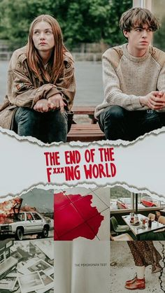 The End of the F----ing World / S: / Ep. 16 / Comedy, Drama [UK] / The End Of The F***ing World is a dark comedy drama television series. The show is based on the comic series The End Of The Fucking World by Charles S. The End, End Of The World, Movies And Series, Tv Series, James And Alyssa, Ing Words, Jessica Barden, World Wallpaper, World Quotes