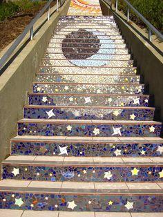 Original photo from tiledsteps.org - Stairway in San Francisco