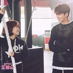 Hyung sik and park bo young strong woman do bong soon drama ❤❤ Love K, True Love, Strong Girls, Strong Women, Strong Woman Do Bong Soon Wallpaper, Park Bo Young, Park Hyung Sik, Korean Artist, Bongs