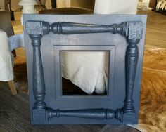Distressed handmade picture frame   100 yr old porch by Accent2