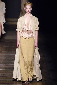 Dries Van Noten Spring 2006 Ready-to-Wear Fashion Show - Querelle Jansen (Women)