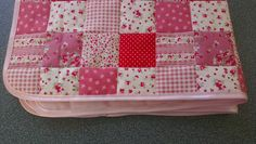 Claire's Craft Corner: patchwork baby blanket