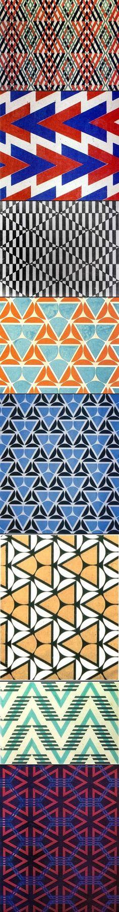 Textile designs by my icon Varvara Stepanova