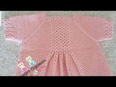 Bean Fan Vest / Cardigan Coffee Bean Fan Vest / Cardigan,Coffee Bean Fan Vest / Cardigan, Little Princess Coat Sweater for 2 to 3 Year Old Girls Ready Knitted Baby Cardigan, Crochet Poncho, Knitting Videos, Crochet Videos, Crochet For Kids, Crochet Baby, Lady Rockers, Moda Crochet, White Lace Tank Top