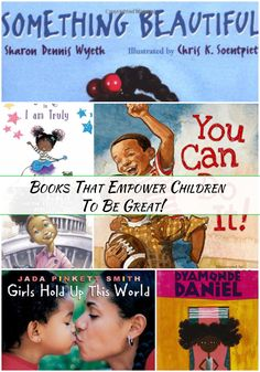 Books that empower children to be great @totsadventures #booklists #selflove #kidlit