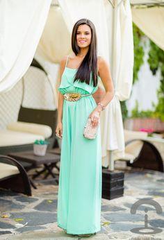 Magníficos vestidos para salir a cenar | Modernos Vestidos de verano